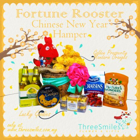 Fortune Rooster CNY Hamper 3Smiles 3