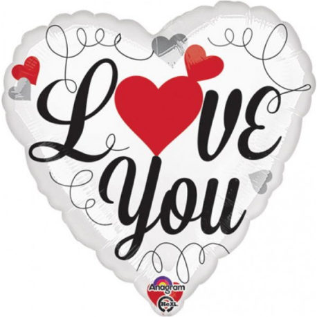 Love You Red Hearts